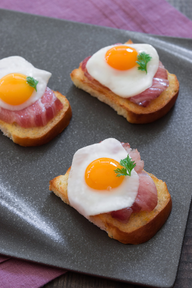 Otoro Bacon And Quail Eggs Luxe Gourmets