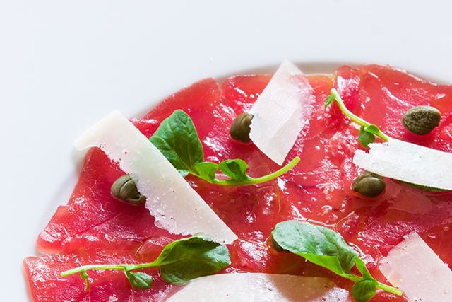 Bigeye Tuna Carpaccio Recipe