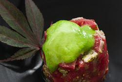 Bluefin Tuna Tartare with Wasabi Espuma Recipe