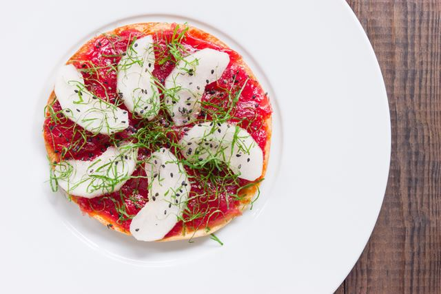 Bluefin Tuna Pizza