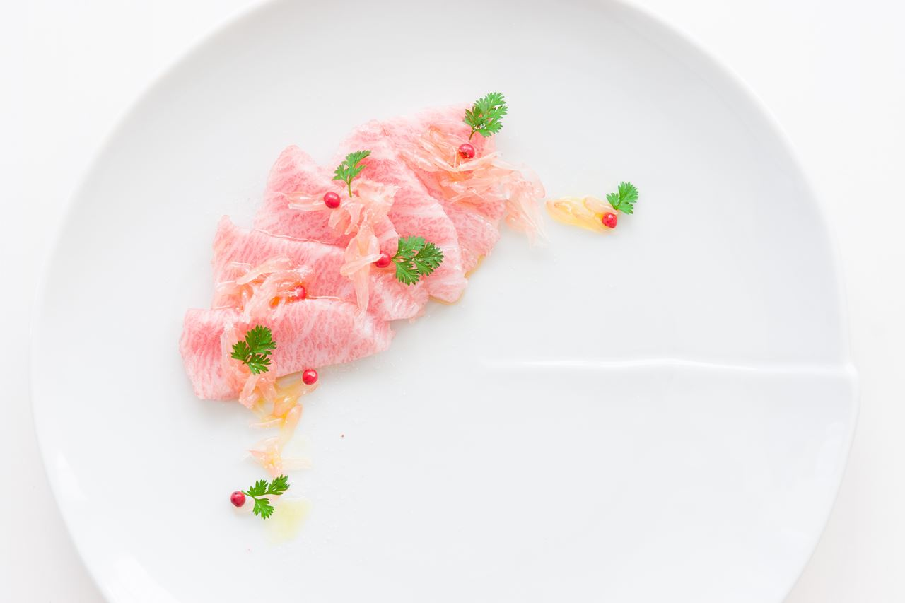 Picture for category Otoro Crudo with Grapefruit Caviar