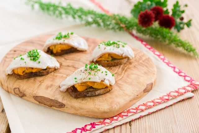Picture for category Ivory King Salmon Crostini