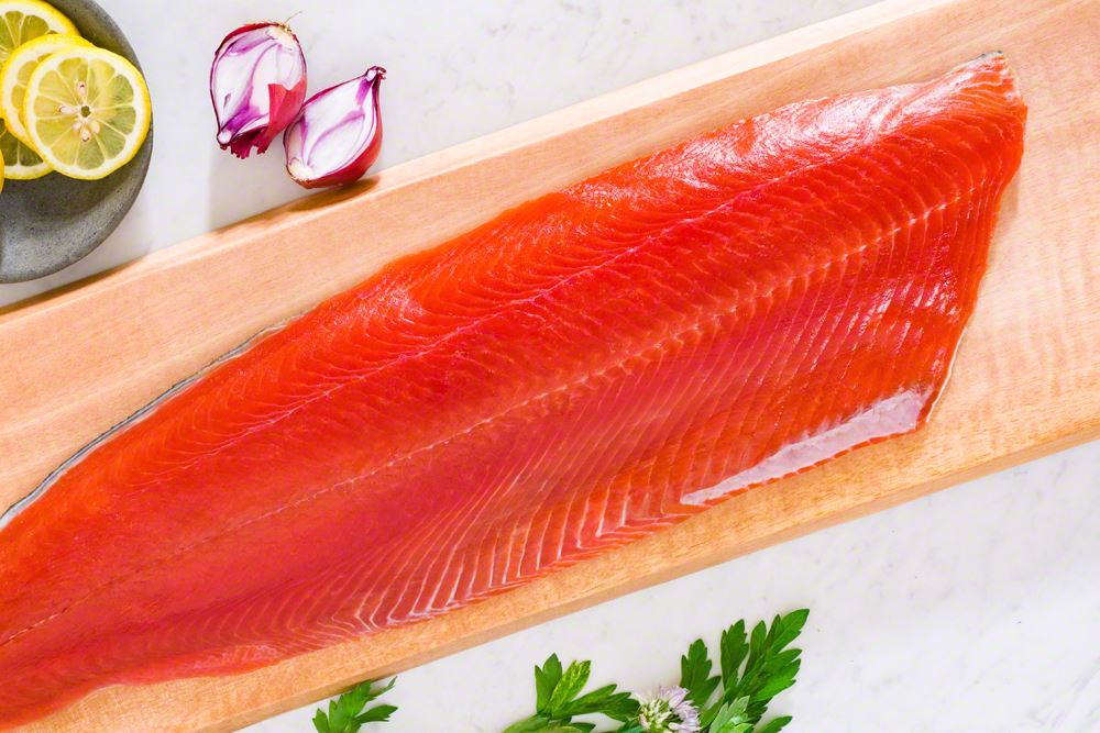 Picture of Wild Alaskan Sockeye Salmon