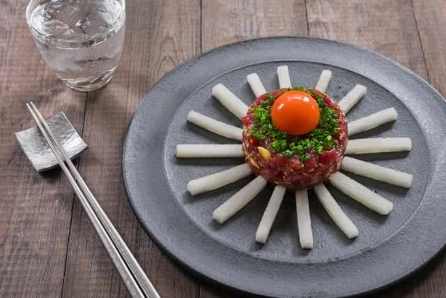 Tuna Yukhoe (Korean-style Tuna Tartare)